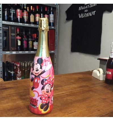 Champin sin alcohol Disney Mickey & Mouse Piruleta