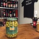 Anchovy flavor Olives - Pelotín 600gr