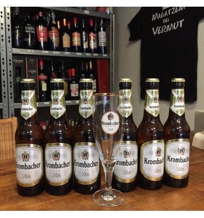 Pack 6 Cervezas Kromacher + Copa