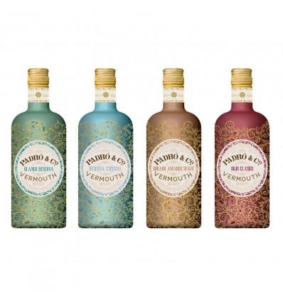 Colección Vermut Padro & Co 4 botellas