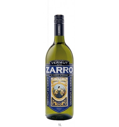 Vermut Zarro Blanco 1lt madrid