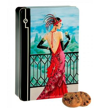 Caja de Cookies Scarlett Vermut - Caja Metálica