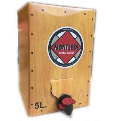 Vermut Montseta Reserva 5 lt. Bag in Box