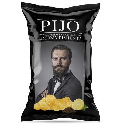 Patatas Pijo sabor Limón & Pimineta