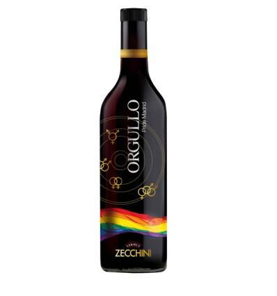 Vermut Zecchini rojo día del Orgullo Gay
