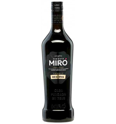 Vermut Miró Reserva etiqueta negra