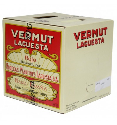 Bag in Box Vermut Martinez Lacuesta