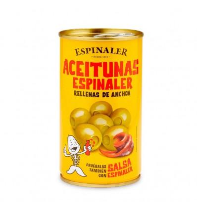 Aceitunas Espinaler Rellenas de Anchoa 350gr